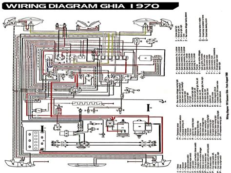 1970 Wiring Diagram by 1970 Vw Beetle Light Wiring Diagram Wiring Forums