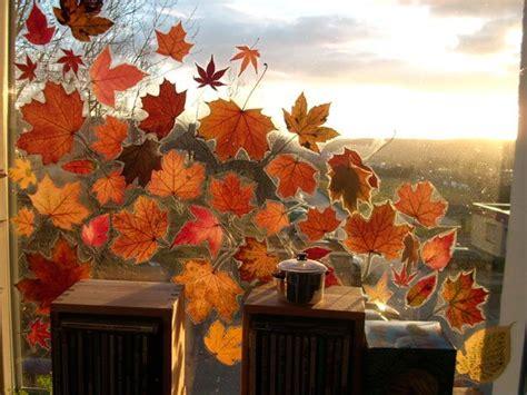 Herbst Fenster Dekoration by Die Besten 25 Fensterdeko Herbst Ideen Auf
