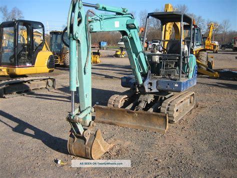 ihi   mini excavator   hrs  cyl diesel  dig