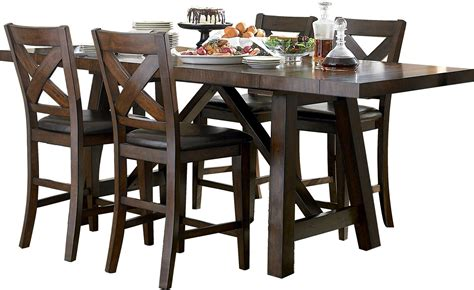 Adara Set adara 5 counter height dining package rectangle