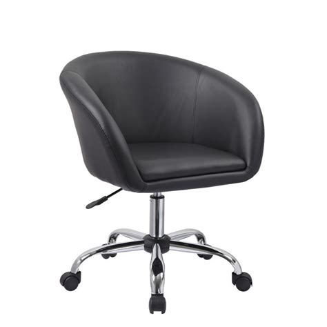 roulettes fauteuil bureau fauteuil à tabouret chaise de bureau noir bur09020