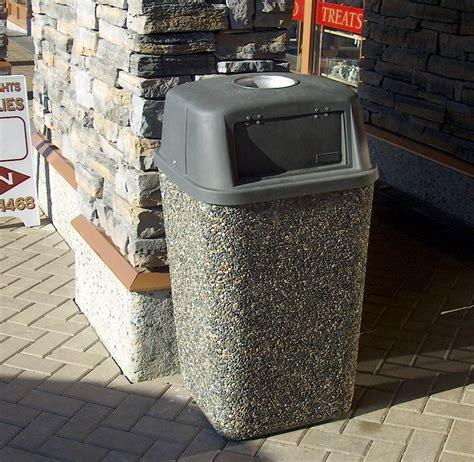 garbage cans precast concrete sanderson concrete