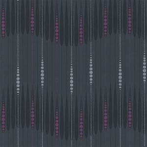 Tapete Zum Abwischen : ouverture 2014 42070 40 tapete neu vlies streifen punkte grau pink lila ebay ~ Markanthonyermac.com Haus und Dekorationen