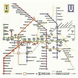 Netzplan Berechnen : bvg berliner verkehrsbetriebe berlin deutschland subway map u bahn ~ Themetempest.com Abrechnung
