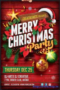best 35 christmas new year flyer templates for 2014 frip in