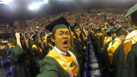 gopro graduation cap toss youtube