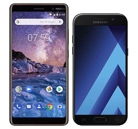 samsung a5 2017 induktives laden möglich smartphones im vergleich nokia nokia 7 plus oder huawei