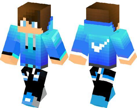 blue nike sweater boy minecraft skin minecraft hub