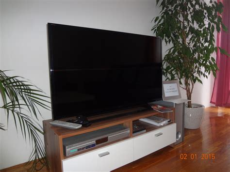 Living room with a new Sony Bravia 40 inch LCD TV