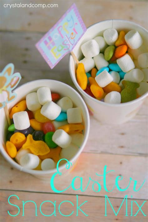 easter snack ideas easter snack mix no cooking required best easter snacks snack mixes and snacks ideas
