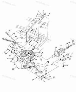 Polaris Atv 1999 Oem Parts Diagram For Engine Mounting