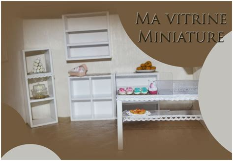 vitrine miniature bakery part 1 my crafts and diy projects