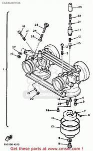 Yamaha Pz480h Phazer 1984 Carburetor