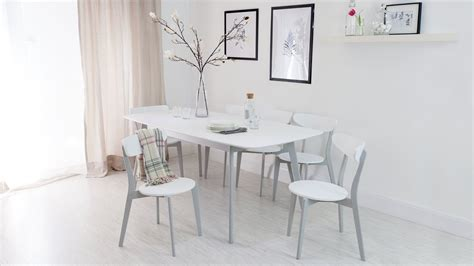 grey  white kitchen chair dining chair danetti uk