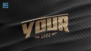Sports Jersey Texture Psd Logo Mockup