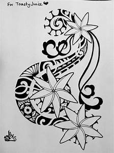 tattoos by butler hilo hawaii | tiare flower tahitian ...