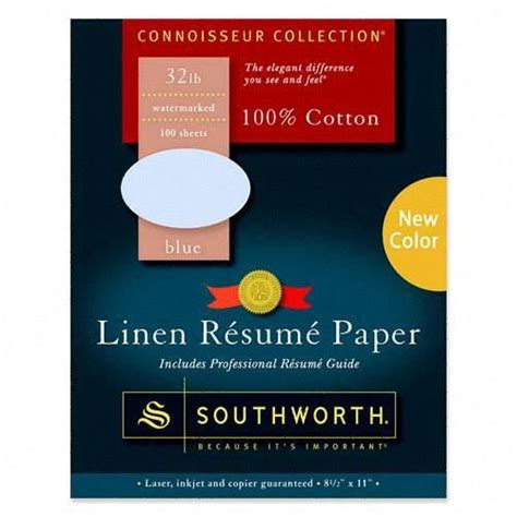 Is Linen Resume Paper by Printer