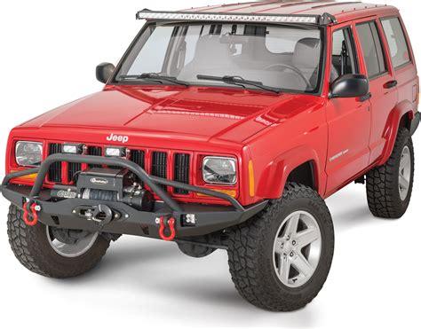 jeep xj light bar mount quadratec 174 hi performance 51 quot led combo light bar with