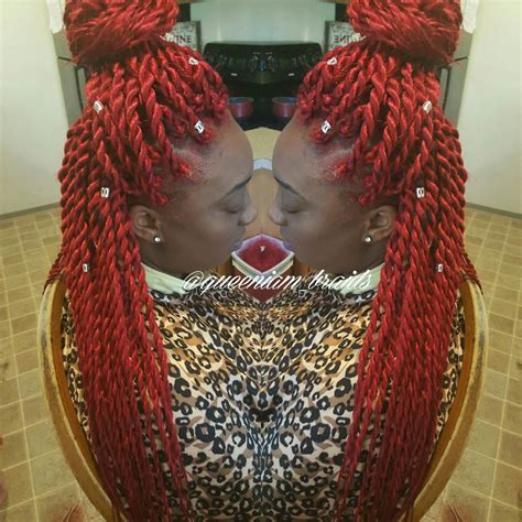 kinky twists hairstyle ideas design trends premium