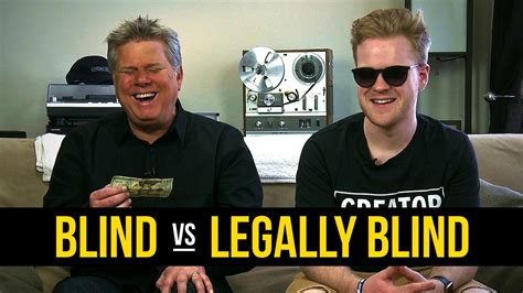 what is legally blind what are the differences between being blind legally