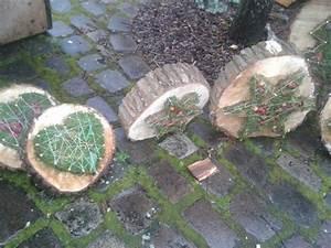 Ideen Mit Baumscheiben : ber ideen zu weihnachtsdekoration f r drau en auf ~ Lizthompson.info Haus und Dekorationen