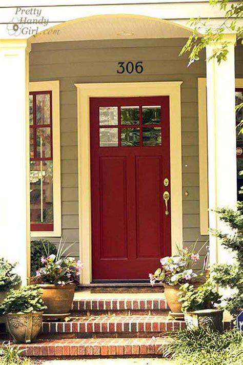 bold  beautiful colored front doors amazing diy interior home design