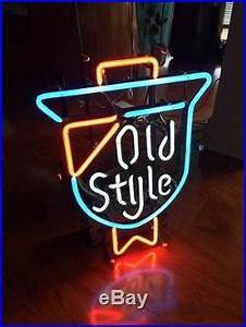 Old Vintage Style Beer Lager Neon Light Sign 22×16