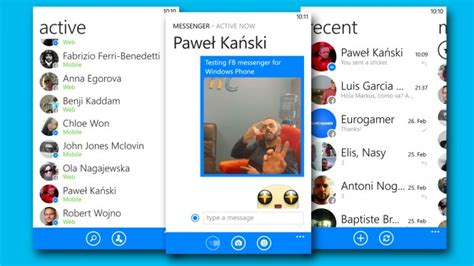 messenger para moviles nokia lumia con windows phone descargar