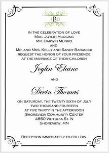 wedding invitation wording examples no parents choice With sample wedding invitation wording divorced parents