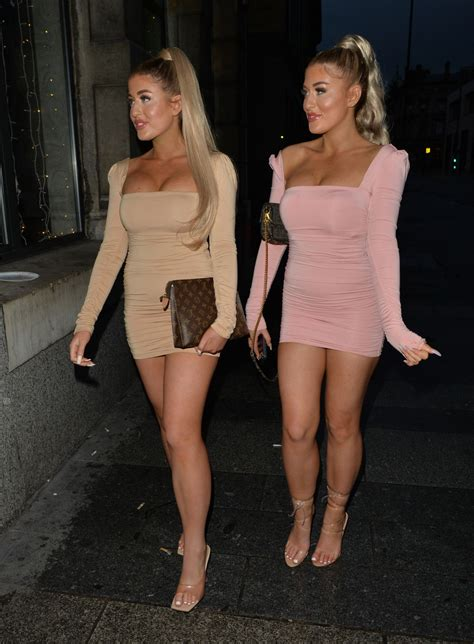 Jess Gale and Eve Gale Night Out in Liverpool | RitzyStar