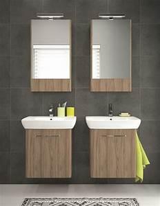 Petit Meuble Lavabo : meuble salle de bain faible profondeur conseils pratiques ~ Teatrodelosmanantiales.com Idées de Décoration