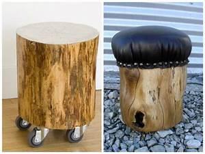 Troncos, palets y tablas para rústicos sillones y bancos: Ideas de asientos con maderas