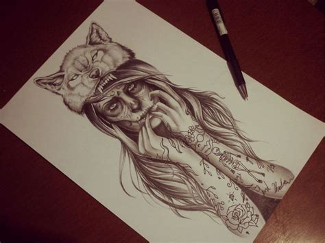 Wolf Girl By Eirikiss.deviantart.com On @deviantart.really
