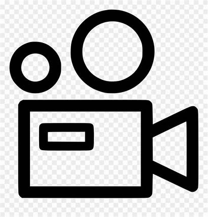 Icon Film Clipart Projector Svg Pinclipart Clipground