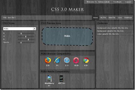 css maker  css code  border box shadow effects