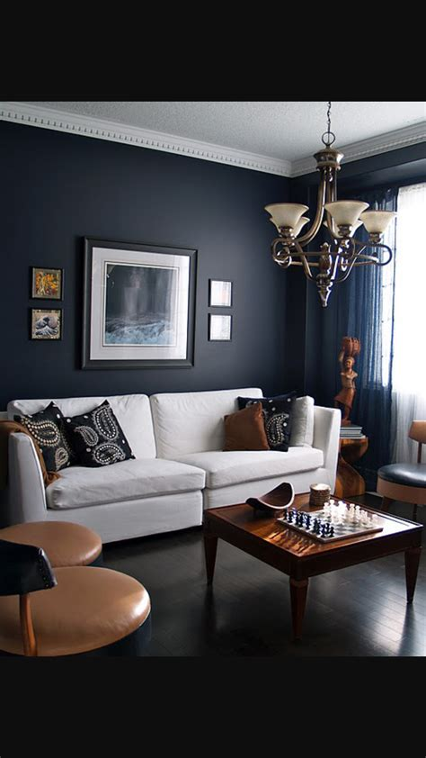Ideas Navy Blue Walls by Navy Walls Living Room Yegs Navy Living Rooms