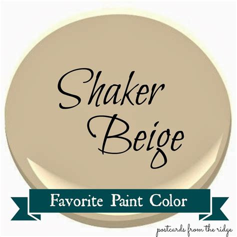 benjamin shaker beige favorite paint color