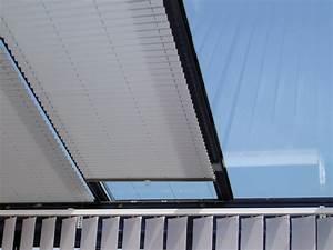 Rideau De Toit Pour Veranda : batistore store duette toiture de v randa ~ Melissatoandfro.com Idées de Décoration