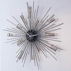 Moderne Wanduhren Wohnzimmer : moderne wanduhr wanduhr metall design wanduhr lustige ~ A.2002-acura-tl-radio.info Haus und Dekorationen