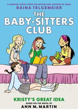 kristys great idea  baby sitters club graphic
