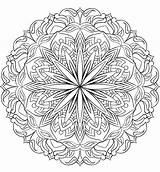 Coloring Mandala App Colorart sketch template