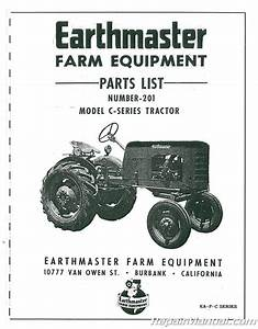 Earthmaster C Series Parts Manual