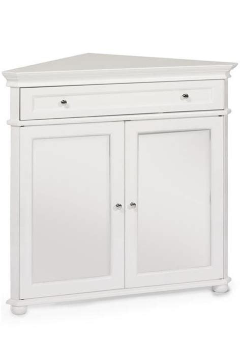 Hton Bay Cabinet Doors by Hton Bay 32 Quot W Corner Cabinet With Two Wood Doors Wood