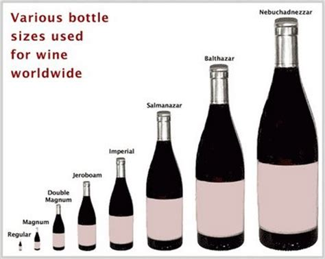 wine bottle sizes neethlingshof