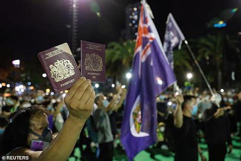 China threatens to stop recognising British National ...