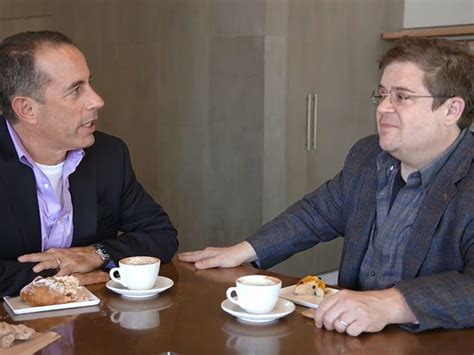 patton oswalt in seinfeld comedians in cars getting coffee coffee shops and