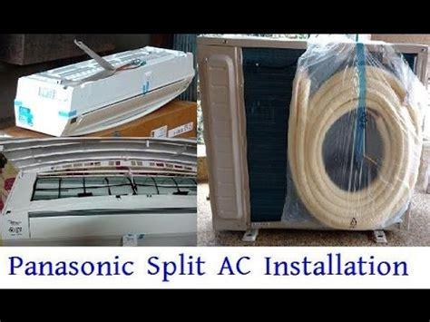 panasonic split ac installation panasonic us18sky 1