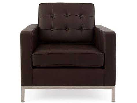 Poltrona Lounge Knoll- Marrone