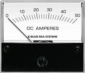 Dc Analog Ammeter - 0 To 50a With Shunt