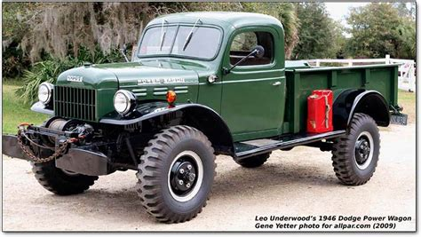 Dodge Power Wagon: the original legendary truck